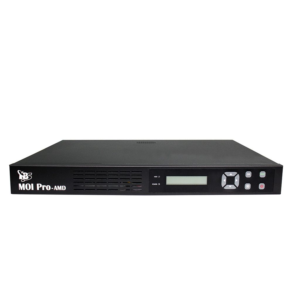 TBS Moi Pro AMD IPTV Streaming Server With Cooling Fans