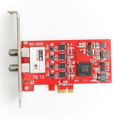 TBS Moi Pro AMD IPTV Streaming Server With Cooling Fans – PCI